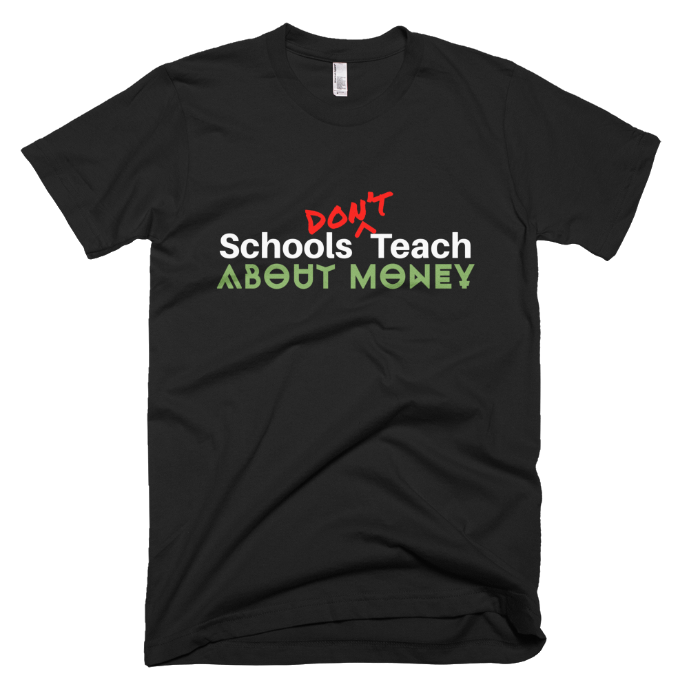 SDT-About-Money-tee-black-converted_mockup_Wrinkle-Front_Black