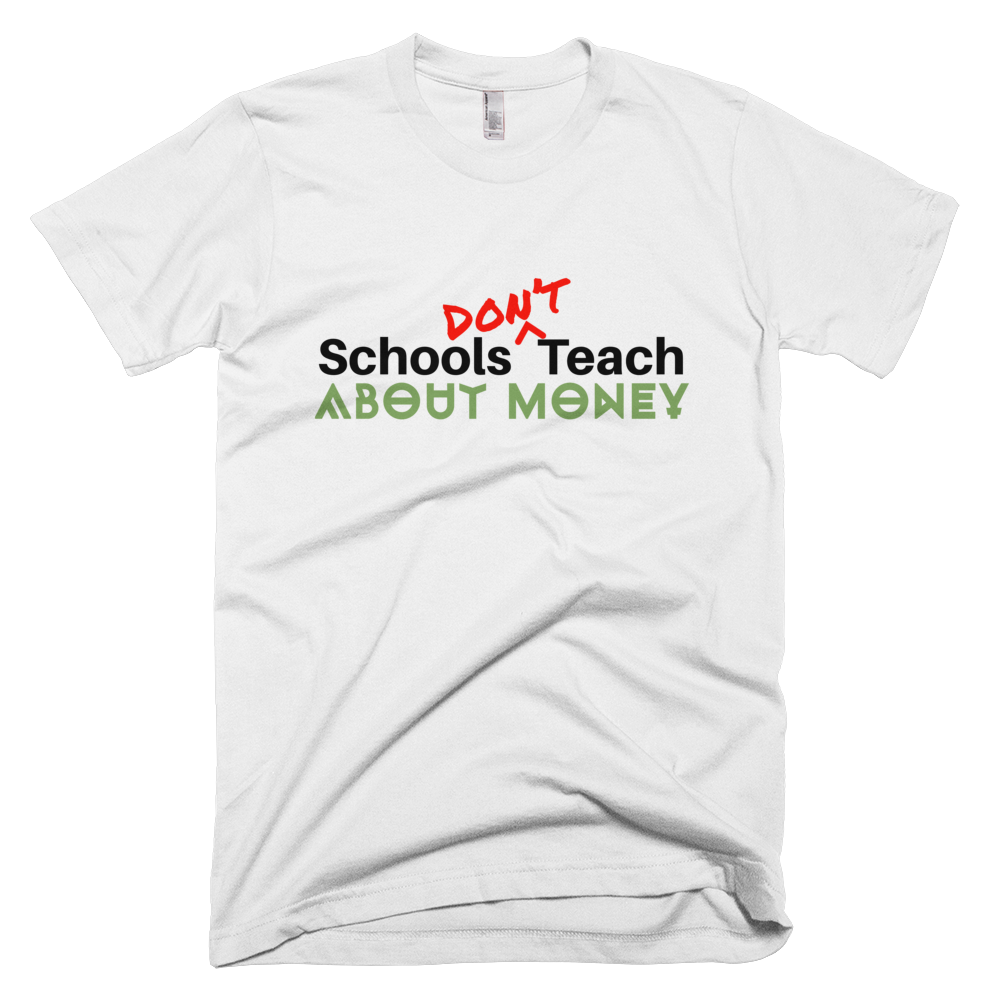 SDT-About-Money-tee-converted_mockup_Wrinkle-Front_White